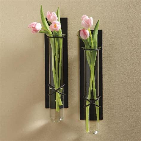 flowers wall vases flowers