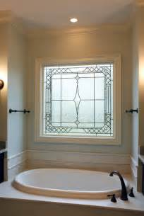 Houzz Bathtubs Decorative Glass Windows Traditional Bathroom