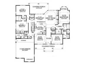Ranch Floor Plans With Bonus Room by Eplans Craftsman House Plan Comfortable Craftsman Ranch