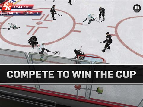 nhl mobile nhl 2k for ios offers mobile hockey gaming with enhanced