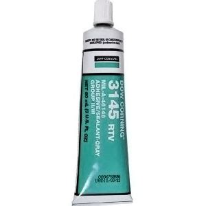 Dow Corning Rtv 3145 Silicone Adhesive Dc 3145 Limited dow corning 174 3145 rtv mil a 46146 adhesive sealant gray creative engineering
