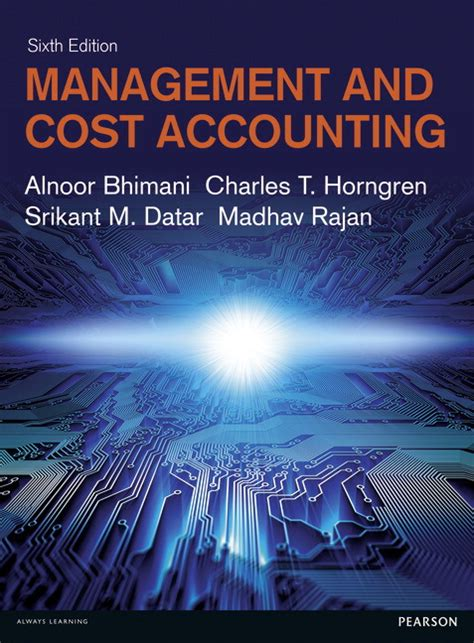 Cost And Management Accounting Pdf For Mba by Management And Cost Accounting Ebook 6th Bhimani