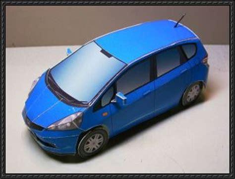 Honda Papercraft - honda jazz papercraftsquare free papercraft