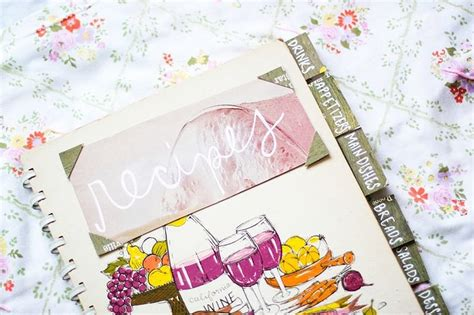Handmade Cookbook - recipe book 37 of the best diy gifts for college