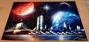 Spray Paint City - spray painting spray paint art twin towers new york city skyline ebay