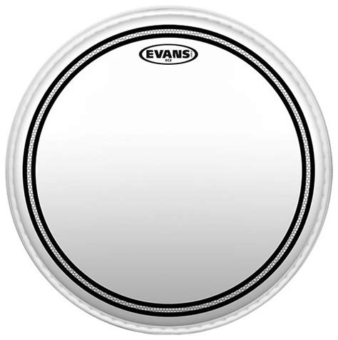 Tt13ec2s 13 Ec2 Drumhead With Sound Shaping Ring ec2 series tt12ec2s batter two ply 12 quot clear reverb