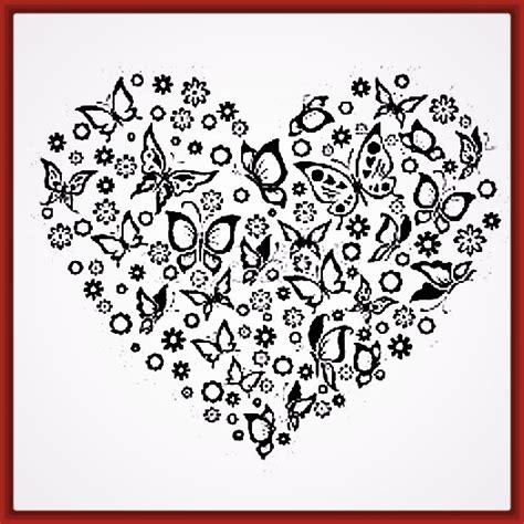 imagenes de bellos corazones corazones bonitos para dibujar y colorear fotos de corazones