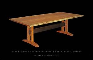 shaker trestle table plans plans free sable13gbt