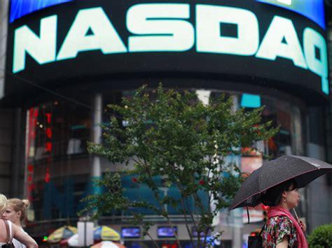 nasdaq resumes trading  halt business insider