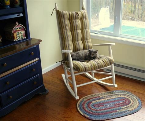 bedroom rocking chair custom rocking chair cushion traditional bedroom by