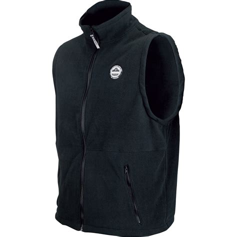 working vest ergodyne performance work wear fleece vest black model 6443 vests