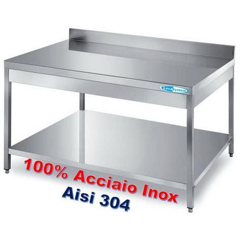 tavoli inox professionali tavoli armadiati inox attrezzature e forniture