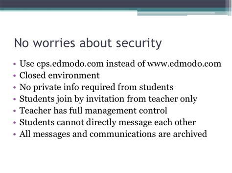 edmodo cps edmodo a social learning network