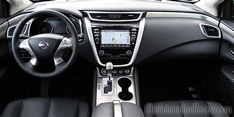 nissan murano interior 2016 2016 nissan murano review the automotive review