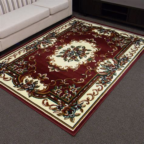 Kmart Rugs 8x10 by Burgundy Area Rug Kmart