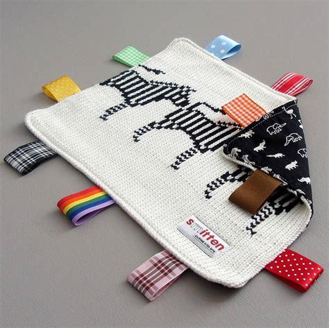 comfort blanket zebra baby comfort blanket by smitten notonthehighstreet com