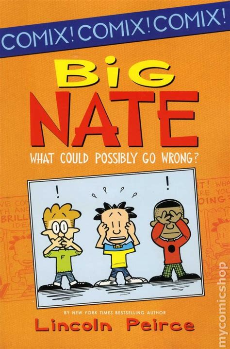 big nate book pictures big nate what could possibly go wrong tpb 2012
