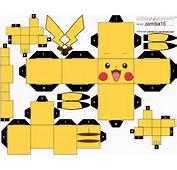 Pikachu Cubeecraft By Zamiba15 On DeviantArt