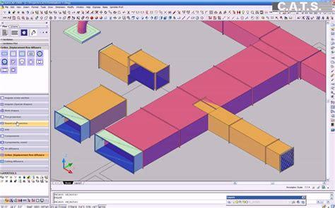 simple design software free c a t s software ventilation 3d design part 2