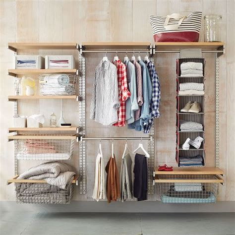 Make Own Closet by Build Your Own Monorail Closet System