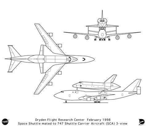 aeromodelli di carta volanti aircraft boeing 747 300 space shuttle smcars net