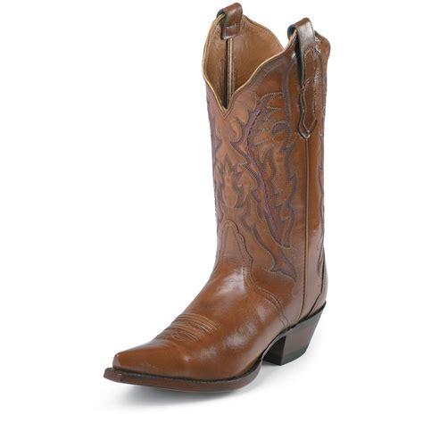 s nocona boots nocona 174 s western boots antique 173220