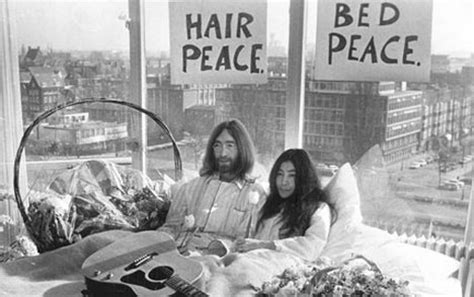 john lennon bed in the city that gives peace a chance daily mail online