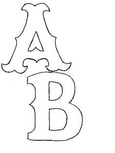 Applique Letter Templates by 220 Ber 1 000 Ideen Zu Alphabet Templates Auf