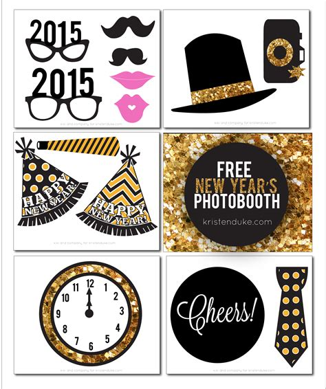 printable new years eve photo booth props 2016 new years eve photo booth props printable photo booth