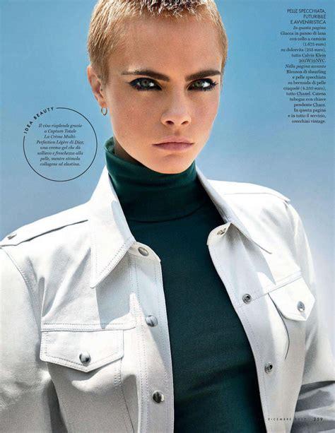 cara menggunakan anonytun desember 2017 cara delevingne elle magazine italy december 2017 issue