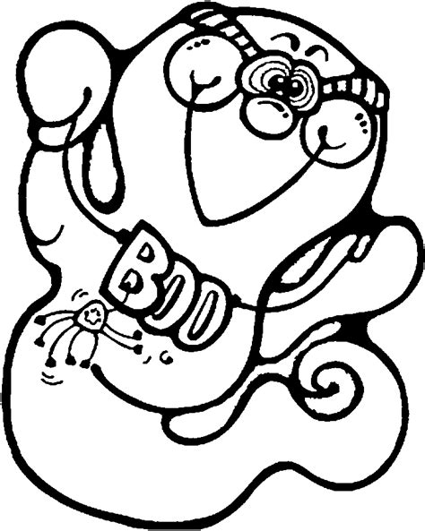halloween ghost coloring pages printables kids printable ghost coloring pages for halloween