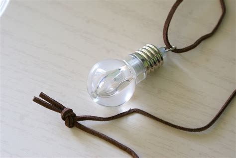 Light Bulb Necklace by Lots Of Jewelry For Sale More Sanrio Addicts