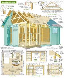 garden shed plans so replica houses