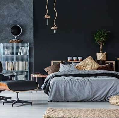 stylish black bedroom ideas   shutterfly