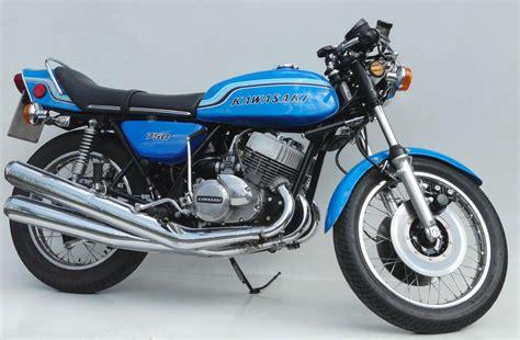 Kawasaki 2 Zylinder Motorrad by Kawasaki 750 H2 1971 1975 F 252 R Echte Kerle Gemacht