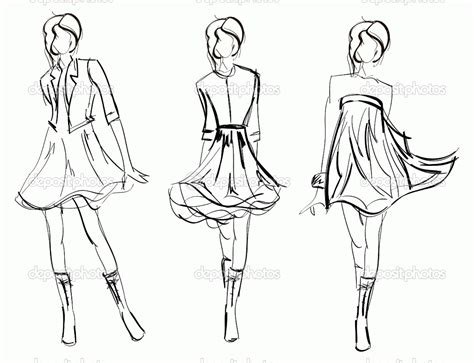design clothes printable free printable fashion coloring pages for adults