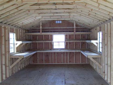Shelving Shed by Best Shed Options Upgrades