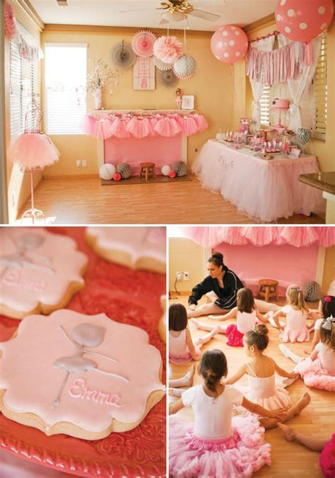 Ballerina Medallion Garland adorable quot tiny dancer quot ballerina birthday