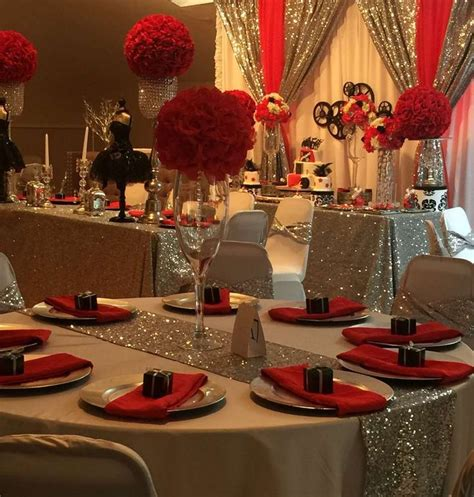 birthday themes in red 25 best ideas about elegant birthday party on pinterest