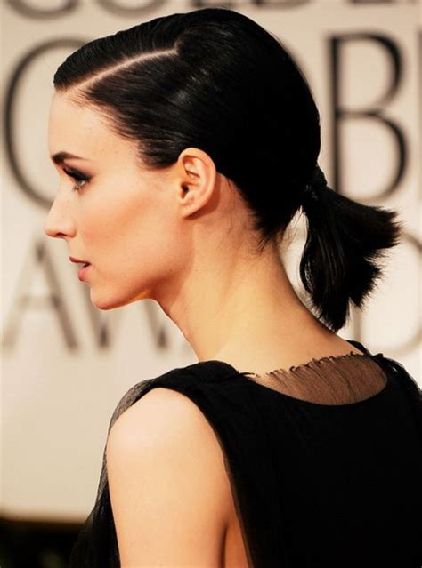 the new chic and sleek ponytail hairstyle cute ponytail hairstyles for short hair