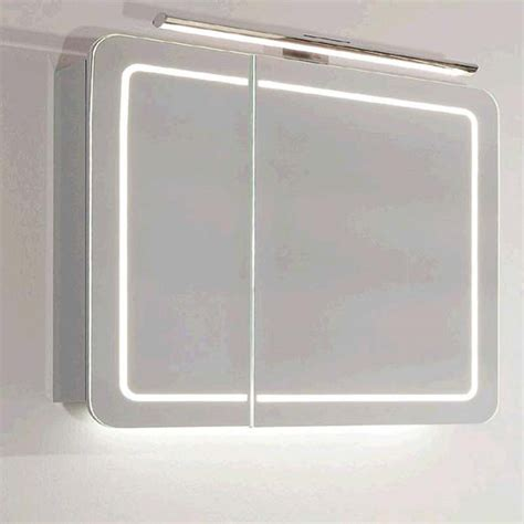 cabinet lighting and outlets buy contea bathroom mirror cabinet with led lighting and