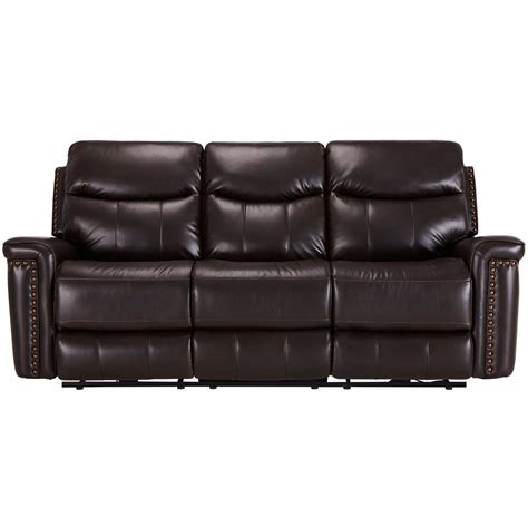 dark brown microfiber sofa city furniture wallace dark brown microfiber reclining sofa