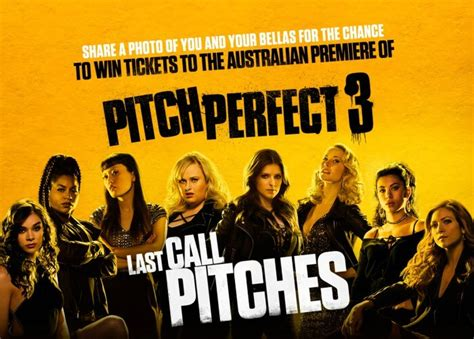 what movies are out pitch perfect 3 by ruby rose movie quot pitch perfect 3 quot comedy in english starring anna kendrick rebel wilson anna c etc