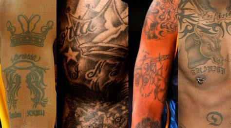 tattoo pen up close nba players tattoos up close pictures to pin on pinterest