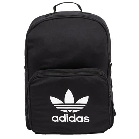 Tas Ransel Adidas Classic Tricot Backpack Black Bk7156 Original Bnwt adidas classic tricot bags in black