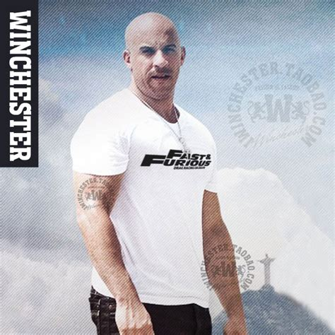 Kaos T Shirt Fast And Furious 8 Paul With Dom Berkualitas the fast and the furious fast furious 7 vin paul walker