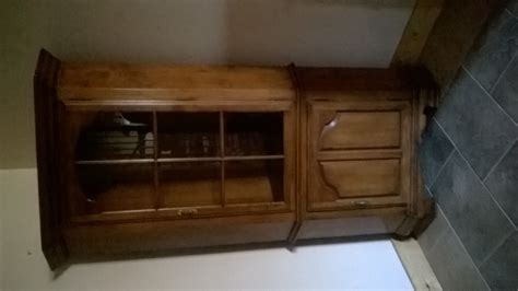 tell city china cabinet value i a kling corner cabinet with the numbers 306165 on