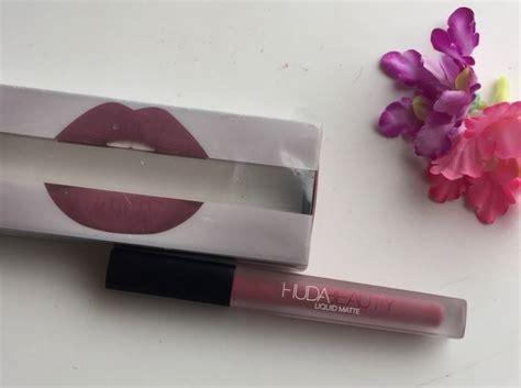 Lipstik Huda Liquid Matte Huda Liquid Matte Trophy Lipstick Review