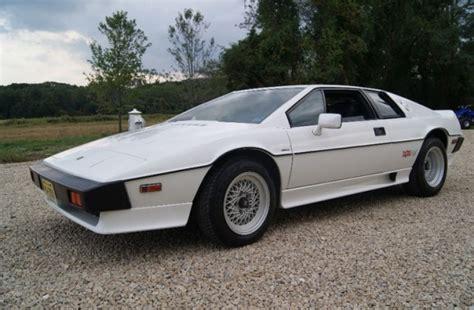 Price Of Esprit 16k mile 1987 lotus esprit turbo bring a trailer