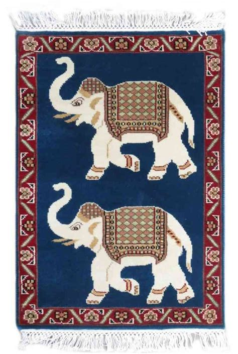 Indian Elephant Rug by Buy Elephant Design Wall Carpet Wc2 Navyasfashion